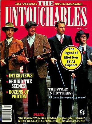 The Untouchables The Official Movie Magazine 1987