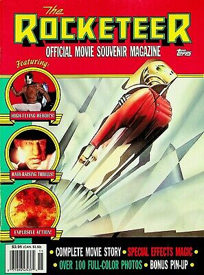 The Rocketeer Official Movie Souvenir Magazine Topps