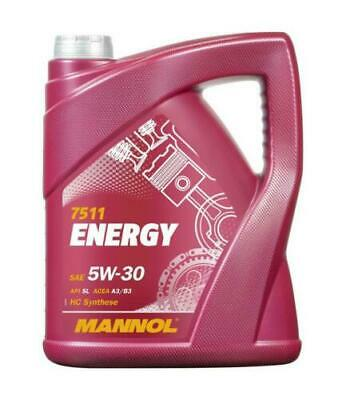 Mannol ENERGY 5w30 ZETEC Fully Synthetic Engine Oil SL/CF ACEA A3/B3 MOTOR OIL