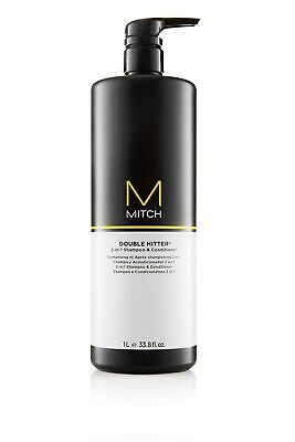 Mitch Double Hitter 2 in 1 Shampoo and Conditioner by Paul Mitchell for Men -...