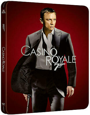 James Bond 007 Casino Royale Limited Edition 4k Steelbook pre order