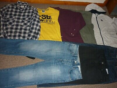 Bundle Boys Clothes age 15-16yrs Jeans Tops Hoodie Shirt  Abercrombie  R.Island