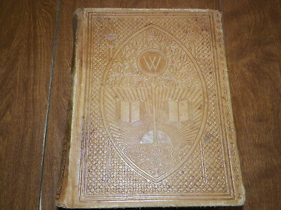 1907, Noah Webster, American Dictionary Of The English Language, Antique Leather