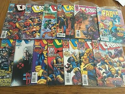 CABLE BULK LOT -  Marvel 1996 - 2000   All FINE TO VERY FINE