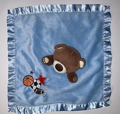 Circo Blue Bear Lovey Toy Blanket