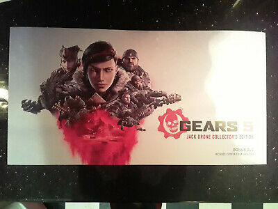 GEARS 5 Jack Drone Special Collectors Edition Gamestop BRAND NEW sealed Xbox One