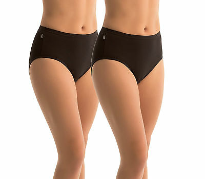 SLOGGI - HIKINI BRIEFS TWIN PACK Black Sz 12-20 NEW  FREE POSTAGE