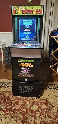 Arcade1Up Centipede 4ft Arcade Cabinet Missile Command Crystal Castles Millipede
