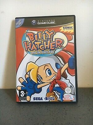 --- Nintendo Gamecube Billy Hatcher And The Giant Egg---