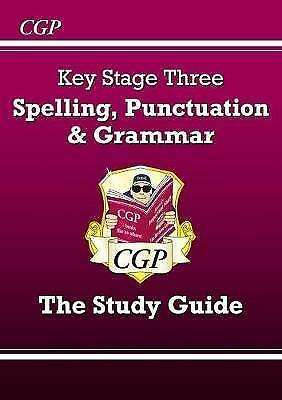 Spelling, Punctuation and Grammar for KS3 - Study Guide by CGP Books (Paperback,