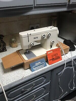 Alfa model 312 Electric sewing machine with instructions