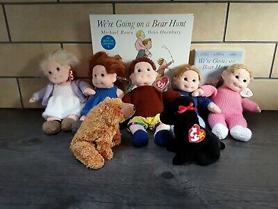 Story Resource Going On Bear Hunt Book 7 Quality Soft Toy Character DVD Some New