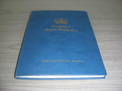 BRITISH COLONIES, 1953 Coronation, Complete MINT NH Stamps mounted in a Specialt