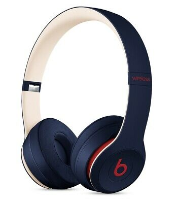 *BRAND NEW SEALED* Beats by Dr. Dre Solo3 On-Ear Bluetooth Headphones Club Navy