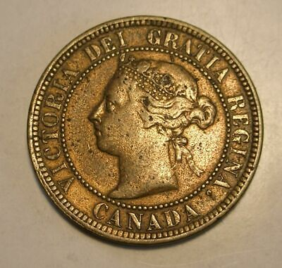 1888 Canada Large One Cent Coin
