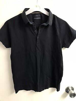 Next Boys Blue Smart Polo Shirt Age 10