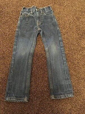 Boys blue denim jeans age 4 years by Next