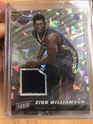ZION WILLIAMSON Panini Cyber Monday Cracked Ice Jersey 20/25 2019  ROOKIE SSP RC