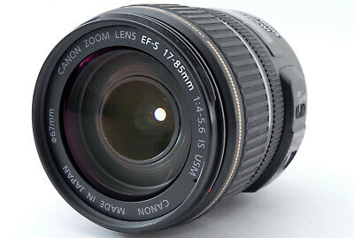 【APP. NEAR MINT】Canon EF-S 17-85mm f/4-5.6 IS USM Lens for EOS From Japan #513