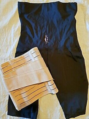 SRC Recovery Shorts Post Pregnancy Support - BLACK Size Small