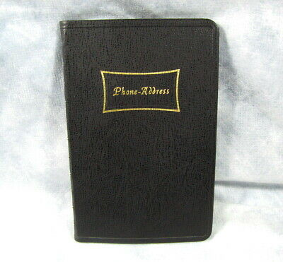"""GUILFORD Phone Address Books Assorted Colors BRAND NEW (8-1/4"""" x 5-1/2)"""