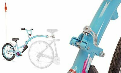 WeeRide Co-Pilot XT Deluxe Wide Tire Bike Trailer Teal
