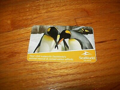 Seaworld Ticket - One Day Admission - San Diego - Sea World - Expires 8/31/20
