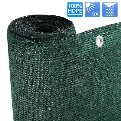 Fence Commercial 220gsm Green Privacy Screen Netting Windbreak 98% Shade Tarp UK
