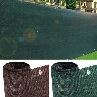 220gsm Fence Privacy Fabric Screen Outdoor Patio Shade Netting Fencing Windbreak