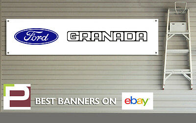 Ford Granada Banner for Workshop, Garage, Office, PVC with eyelets, CLEARANCE!