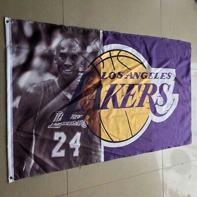 Kobe Bryant LA Lakers 3x5 ft Flag Banner High Quality Material Limited New