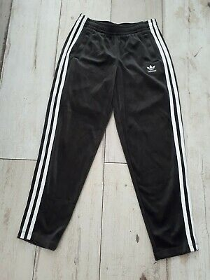 Adidas Velvet Tracksuit Bottoms Girls Age 10-11 Years