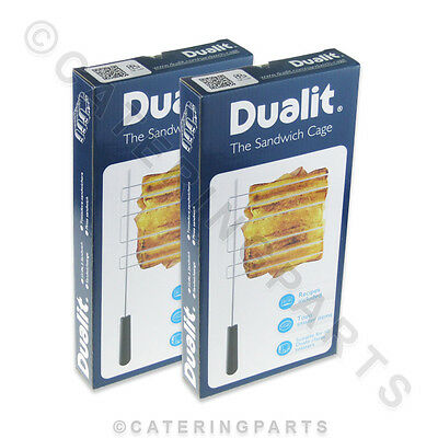 2 X Genuine Boxed Dualit 00499 Classic Vario Newgen Sandwich Toaster Wire Cages