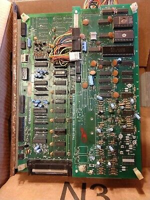 Donkey Kong Arcade Pcb - Tested And Working. 4 Board Stack