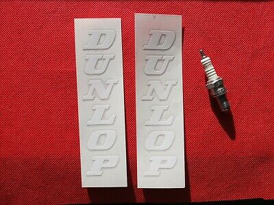 Dunlop Vertical Stickers  Racing Vinyl Decals