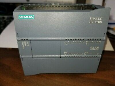 New in Open Box Siemens 6ES7 214-1AG40-0XB0 Simatic S7-1200 CPU 1214C