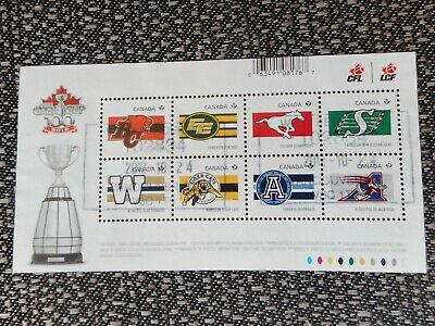 Complete Used Canada #2558 Souvenir Sheet