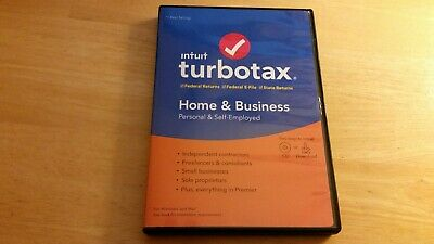 Turbotax Home and Business 2019 (CD)
