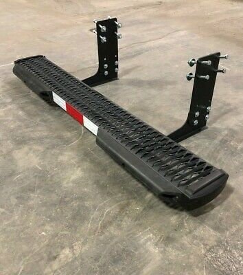 """NEW Mercedes-Benz Sprinter 2007-Present - 7"""" Rear Step Kit With BUMPERS"""