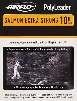 Airflo Trout /& Salmon Fly Fishing Poly Leader Choose Variation Polyleader