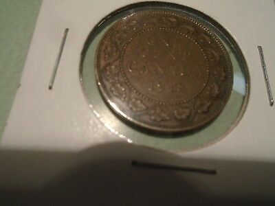 1918 &1920 Canadian One Cent (Large Coins Very Nice Pair) !!