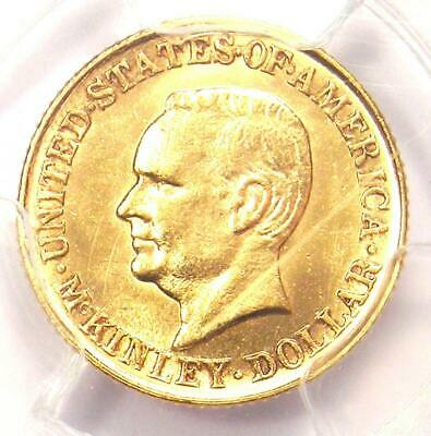 1916 McKinley Commemorative Gold Dollar Coin G$1. PCGS Uncirculated Detail (UNC)