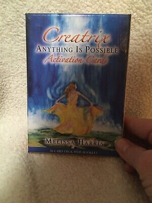Creatrix Activation Cards Anything Is Possible Melissa Harris 33 Card Deck