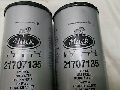 Mack bypass oil filters