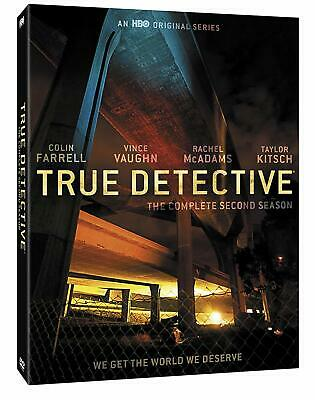 #11 TRUE DETECTIVE Second Season Brand New DVD Set FREE SHIPPING