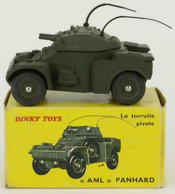 n96 BOITE repro militaire AML panhard  814  DINKY TOYS
