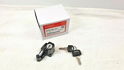 Honda Helmet Lock With Keys OEM Parts 50710-086-007, 50710-371-007