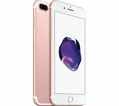 New(Other) Rose Gold Factory Unlocked 128Gb Apple Iphone 7 Plus Phone Gs80