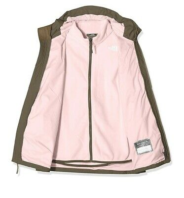 The North Face girls triclimate jacket olive size M 10/11yrs-nwt