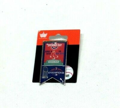 MLB 2019 Opening Day Pin Boston Red Sox Toronto Blue Jays Fenway Park Ring Day